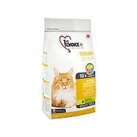 Корм 350 гр для пожилых или малоактивных котов сухой супер премиум 1st Choice (Фест Чойс)