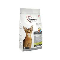 Корм с уткой и картошкой 2,72 кг гипоаллергенный сухой для котов супер премиум 1st Choice (Фест Чойс)