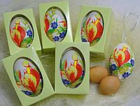 Гусиное расписное яйцо