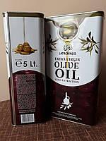 Греческое оливковое масло (первого холодного отжима) Extra Vergine di Oliva, 5 л