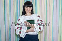 Блуза женская с вышивкой БЖ 12-119