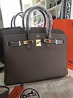 Роскошная женская сумка  Гермес Биркин 35 см нат. кожа