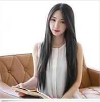 Красивый парик, длинные волосы,черный.