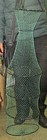 Садок рыболовный Avallon, 5 колец, с чехлом, изготовлен из кордовой нити, простой, легкий и компактный садок