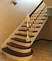 Обшивка металлокаркасов и бетонных лестниц