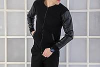 "Модная мужская кофта Pobedov Bomber Coat ""Status"""