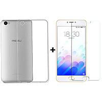 Скидка! Чехол + стекло для Asus ZenFone 3 Max ZC520TL / ZE552KL / Selfie ZD551K / Zenfone 5 A501CG / Zenfone 4