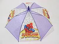 Детский зонт  4-8 лет Человек-паук