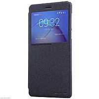 Кожаный чехол-книжка Nillkin Sparkle для Huawei Honor 6X / Mate 9 Lite / GR5 2017 черный