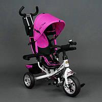 Детский трехколесный велосипед Best Trike EVA 6588 розовый