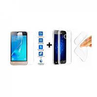 Акция ! Чехол бампер чохол  + Стекло на Samsung Galaxy C7