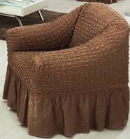 Чехол для кресла шоколадный Турция