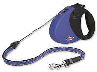Flexi COMFORT LONG 2 MEDIUM Поводок-рулетка для средних собак, 8м (трос), до 20 кг, сиреневый