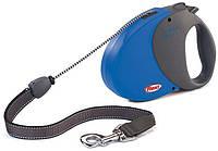 Flexi COMFORT LONG 3 LARGE Поводок-рулетка для средних и крупных собак, 8м (трос), до 50 кг, синий