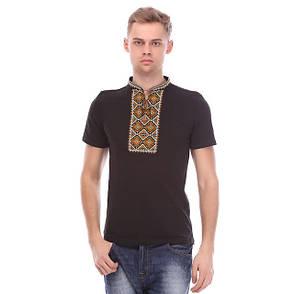 Чоловіча футболка з вишивкою хрестиком, фото 2
