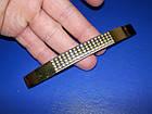 Ручка крапка на ножке 96мм сатин - золото, фото 2