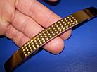Ручка крапка на ножке 96мм сатин - золото, фото 3