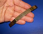 Ручка крапка на ножке 96мм сатин - золото, фото 6