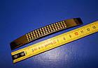 Ручка крапка на ножке 96мм сатин - золото, фото 7