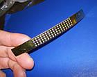 Ручка крапка на ножке 96мм сатин - золото, фото 8