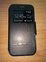 Чехол-книга Samsung Galaxy J1 J100 черная