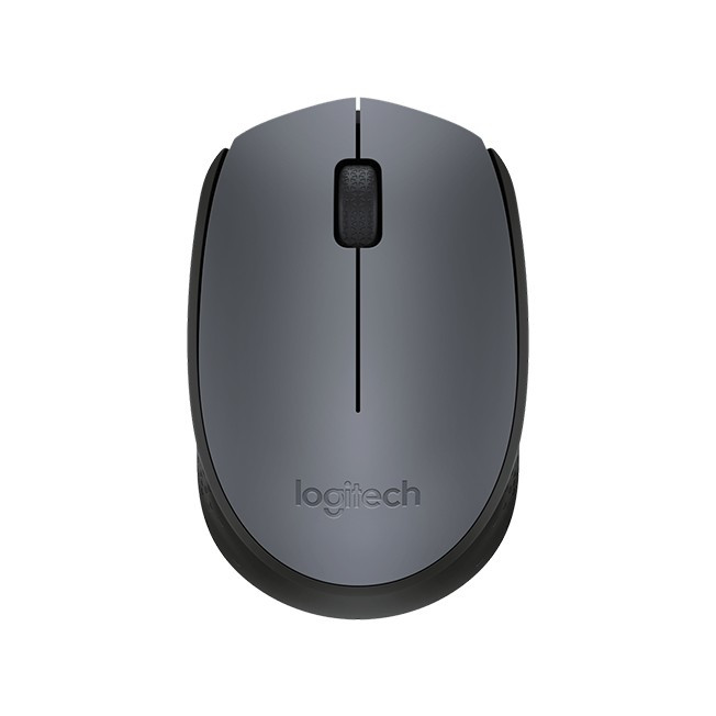 Мышь Logitech M170 Wireless Mouse Black (черная) 910-004642