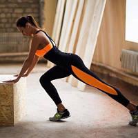 """Женский спортивный костюм для фитнеса """"Neon"""" лосины и майка (4 цвета)"""