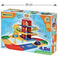 Игровой набор Wader Kid Cars Паркинг 3 этажа с дорогой 4.6 м (53040)