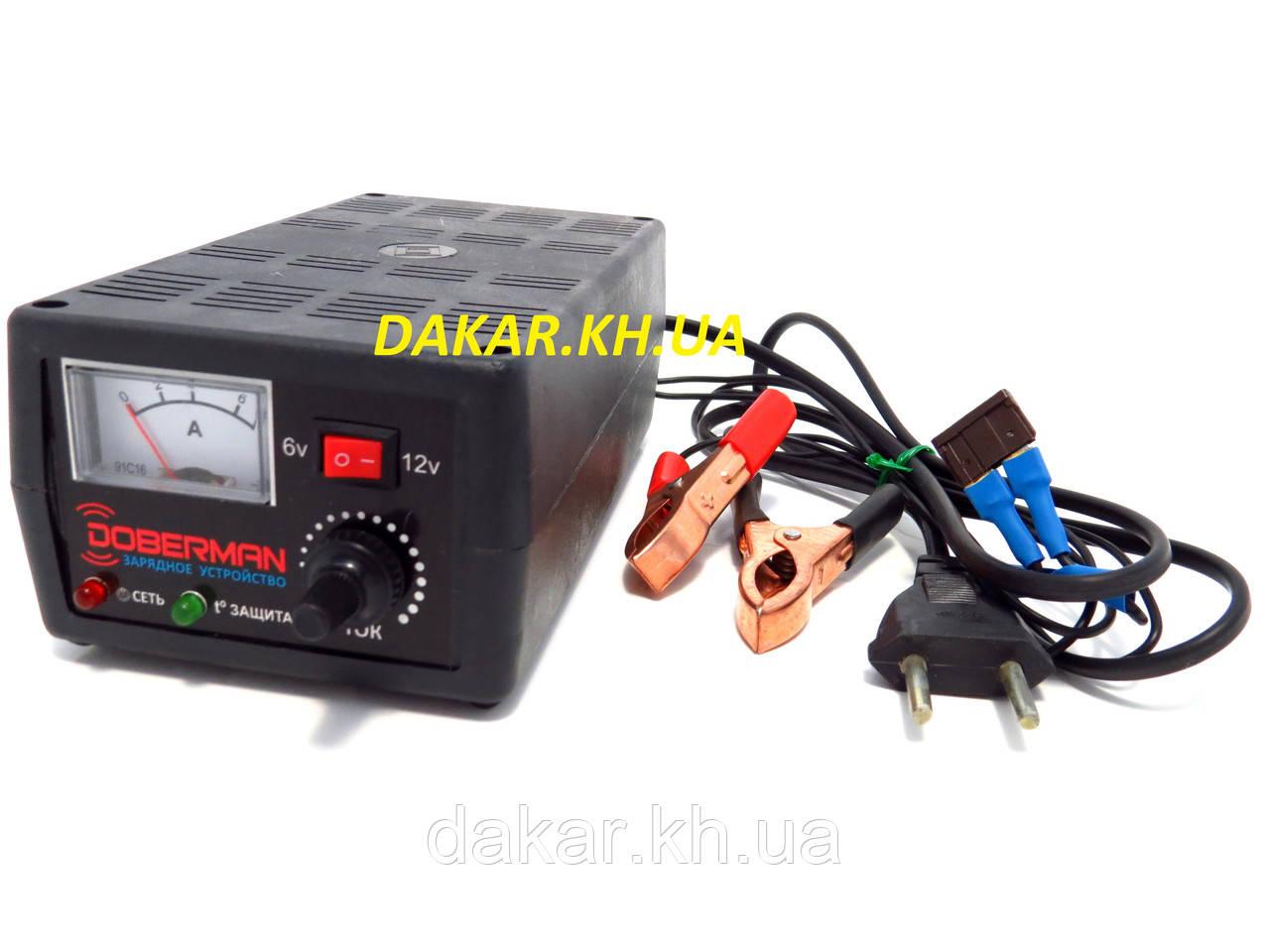 автомобильное зарядное устройство доберман 6 12в 7а цена 490 грн