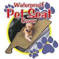 Накидка на заднее сиденье авто 144*144  Pet seat cover 4124 АКБ