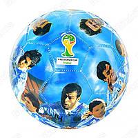Мяч футбольный, размер 5, ПВХ, 2 слоя, 300-320гр, в кульке + (Арт. MMT-EV3178)