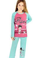 Пижама для девочки OTS 8737
