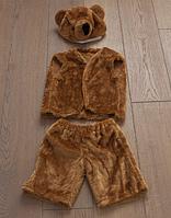 Карнавальный новогодний костюм Медведя, от 2 до 5 лет