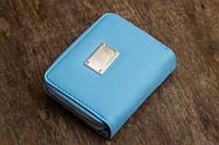 Маленький кошелек МИНИ голубой