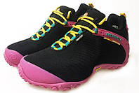 Женские Merrell Continuum Goretex Black Pink. интернет магазин обуви, мерелл обувь