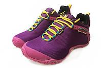 Женские Merrell Continuum Goretex purple Pink. кроссовки интернет, мерелл обувь