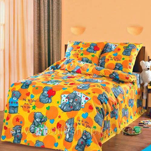 Комплект постельного белья Мишки Тедди подростковый