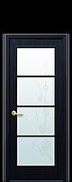Дверь Виктория Экошпон венге 3d,дуб жемчужный,кедр