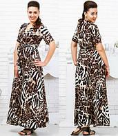 Длинное платье  Warehouse. Баталы  код 803 Б