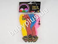 Воздушные шарики LED с подсветкой и надписью I LOVE YOU, 5шт