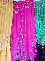 Женская шифоновая юбка для восточных танцев