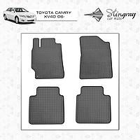 Коврики резиновые в салон Toyota Camry XV40 с 2006 (4шт) Stingray