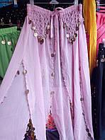 Женская нарядная юбка для восточных танцев