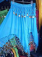 Женская нарядная юбка для восточных танцев на резинке