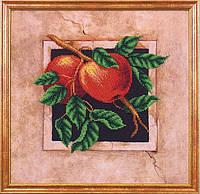 Набор для вышивания бисером Наш сад Яблоки