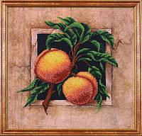 """Набор для вышивания бисером Наш сад """"Персики"""""""
