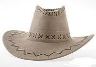 Шляпа ковбоя ковбойская замшевая СКЛАД