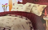 Постельный комплект с брендовым логотипом из поликоттона: полуторный, двуспальный, евро, семейный