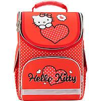 Рюкзак школьный каркасный (ранец) 501 Hello Kitty-1 HK17-501S-1 Kite