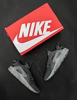 Мужские кроссовки Nike Air Huarache Ultra 2017 🔥 (Найк Аир Хуарачи Ультра) Серый